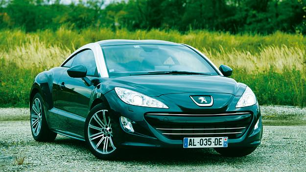 Peugeot RCZ 1,6 THP 200 stat vorne