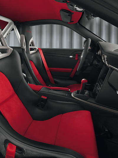 Porsche 911 GT3 RS 4,0 Interieur