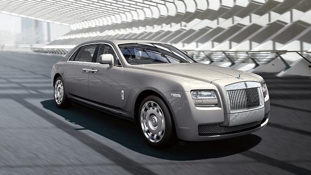 Rolls Royce Ghost Extended Wheelbase Exterieur Front Statisch