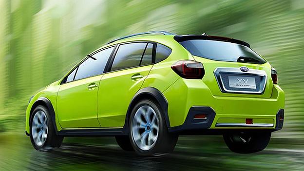 Subaru Impreza XV Concpt Exterieur Statisch Heck