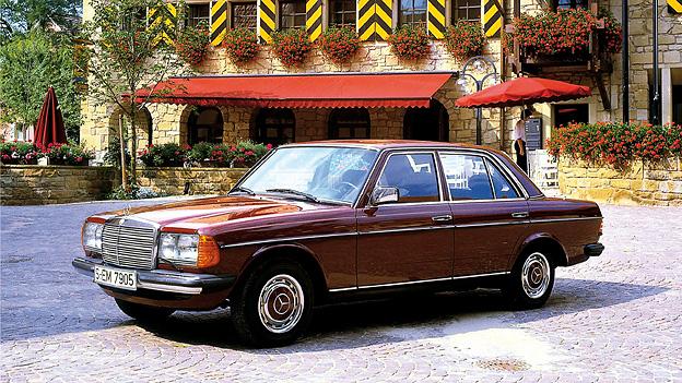 1976 Das Jahr Mercedes W123