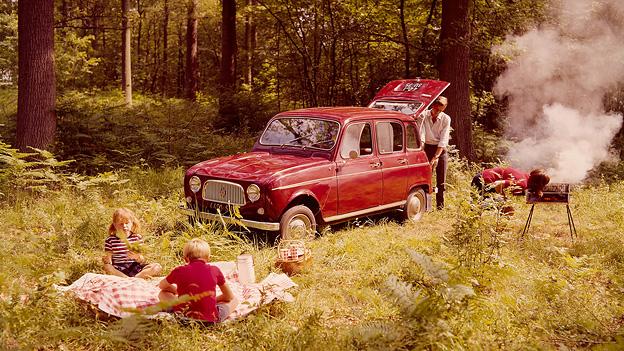Jubiläum Renault 4 Radical Mag