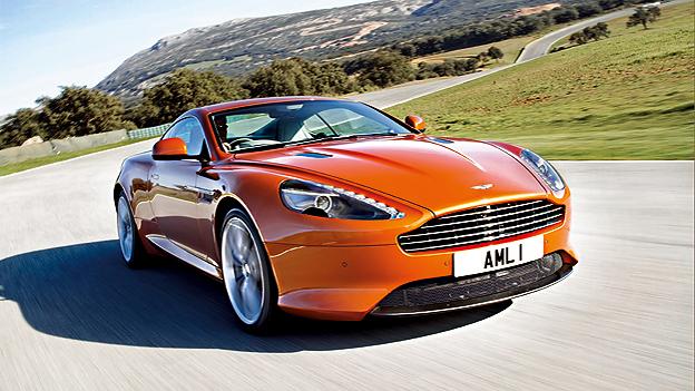Aston Martin Virage Exterieur Dynamisch Front