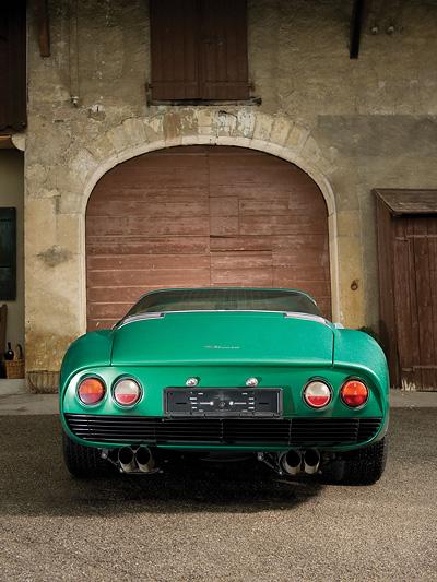 Bizzarrini 5300 GT Strada Radical Exterieur Statisch Heck