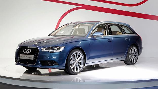 Audi A6 Avant Exterieur statisch front