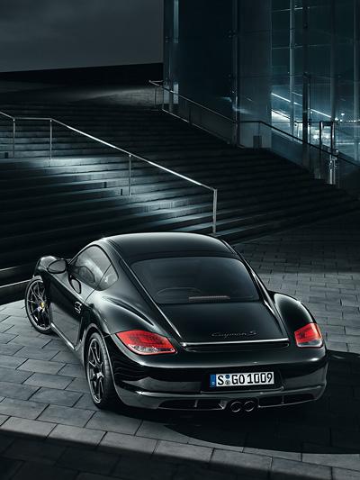 """Porsche Cayman """" Black Series Exterieur Statisch Heck"""