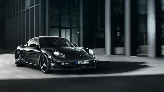 """Porsche Cayman """" Black Series Exterieur Statisch Front"""