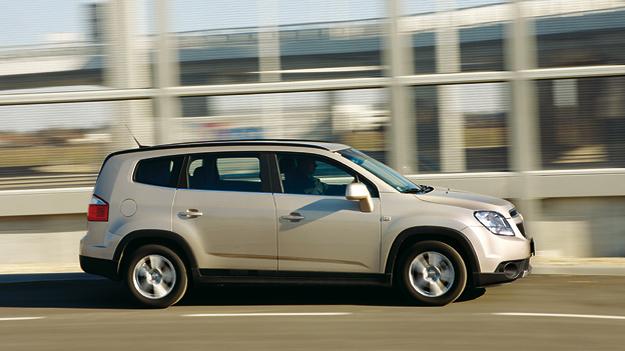 Chevrolet Orlande Exterieur Dynamisch Seite