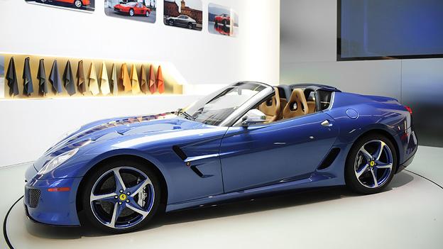 Ferrari Superamerica 45 Exterieur Statisch Front Seite
