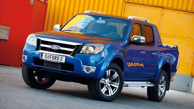 Ford Ranger Statisch exterieur Front Seite Argentinien