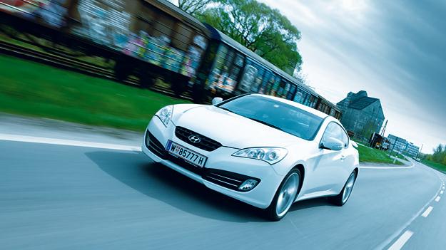 Hyundai Genesis Coupé Exterieur Front Dynamisch