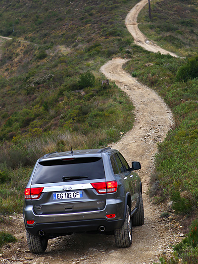 Jeep Grand Cherokee Exterieur Dynamisch Heck