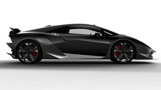Lamborghini Sesto Elemento Exterieur Statisch Seite