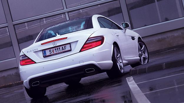 Mercedes SLK 350 Exterieur Statisch Heck