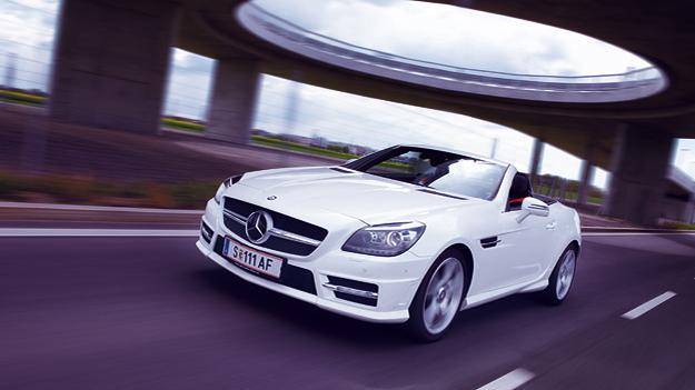 Mercedes SLK 350 Exterieur Dynamisch Front