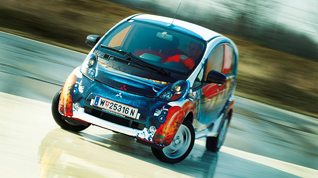 Mitsubishi iMiev Drift Exterieur Dynamisch Front