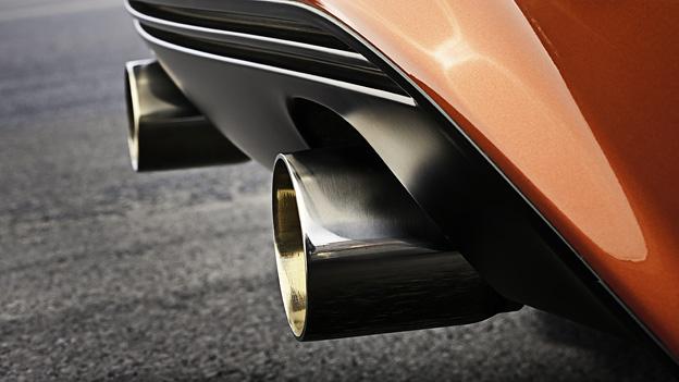 Opel Corsa OPC Exterieur Statisch Detail Auspuff