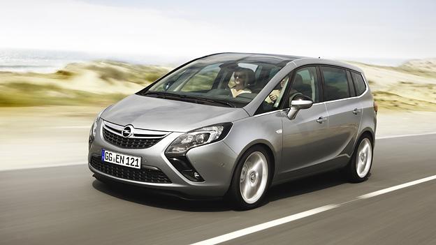 Opel Zafira Exterieur Dynamisch Front
