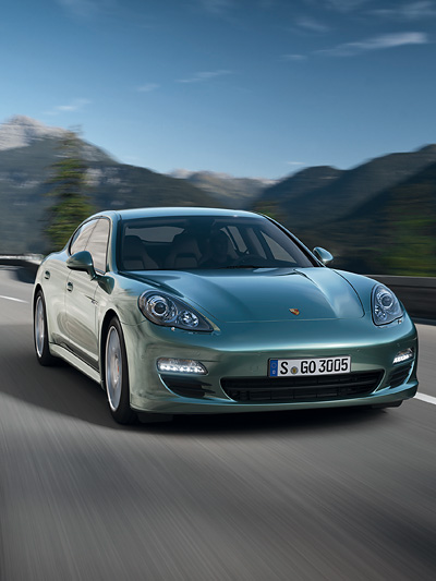 Porsche Panamera Diesel Exterieur Dynamisch Front