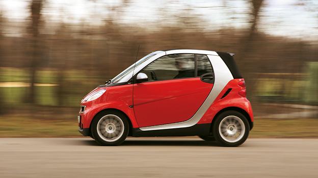 Smart Exterieur Dynamisch Seite Carsharing