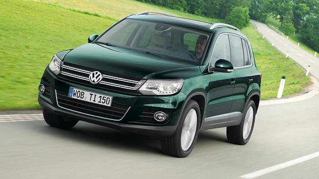 Volkswagen VW Tiguan Tiguan Facelift 2011 Exterieur Front Dynamisch