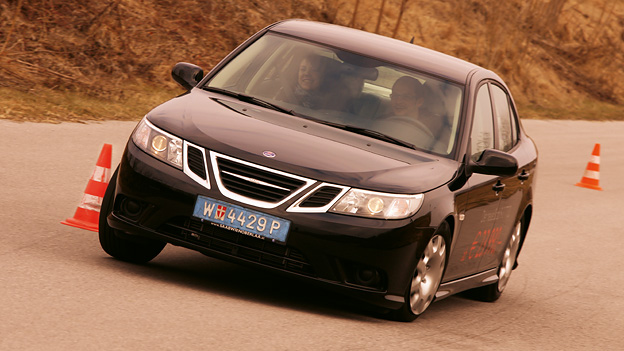 Saab 9-3 Exterieur Dynamisch Front