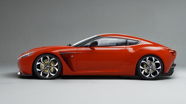 Aston Martin V12 Zagato Exterieur Statisch Seite