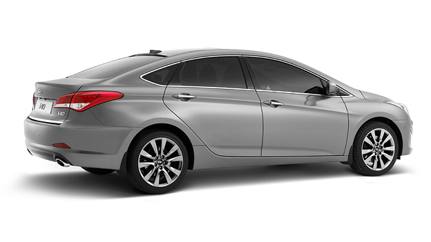 Hyundai i40 Limousine Heck Seite Exterieur Statisch