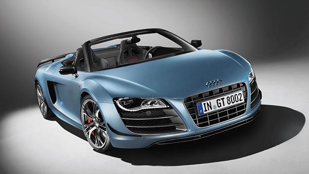 Audi R8 GT Spyder Exterieur Statisch Front