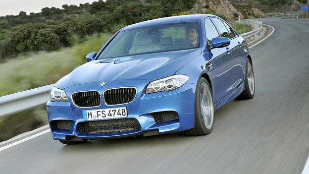 BMW M5 Exterieur Dynamisch Front