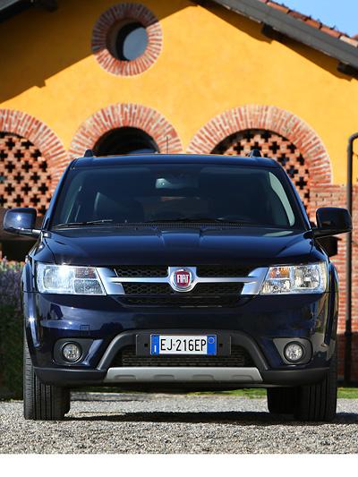 Fiat Freemont Exterieur Statisch Front