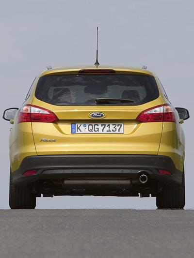 Ford Focus Turnier Kombi Exterieur Statisch Heck