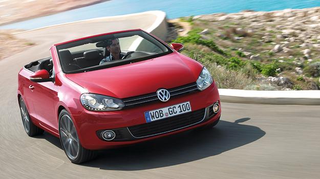 VW Golf Cabriolet dyn vore
