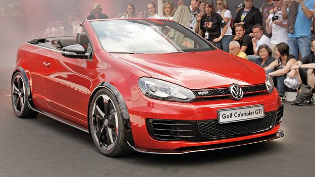 Golf GTI Cabriolet Wörthersee Exterieur Statisch Front Seite Volkswagen VW