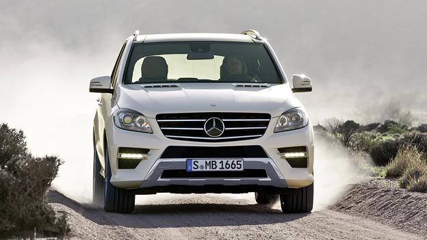 Mercedes M-Klasse Exterieur Dynamisch Front