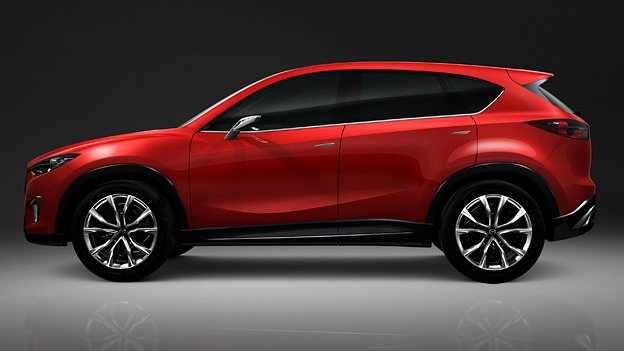Mazda CX5 Minagi Exterieur Statisch Seite