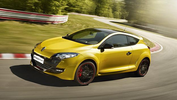 Renault Megane RS Trophy Exterieur Dynamisch Front Seite