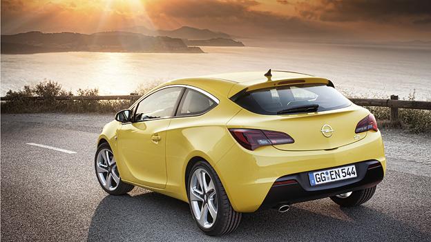 Opel Astra GTC Exterieur Statisch Heck