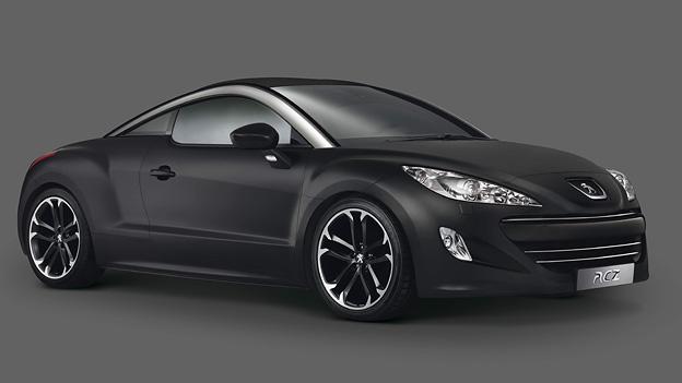 Peugeot RCZ Asphalt Exterieur Statisch Front Seite