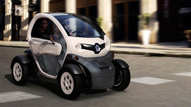 Renault Twizy Exterieur Dynamisch Front Seite