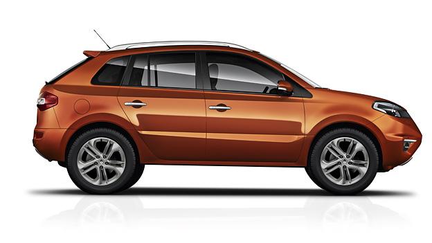 Renault Koleos Exterieur Statisch Seite