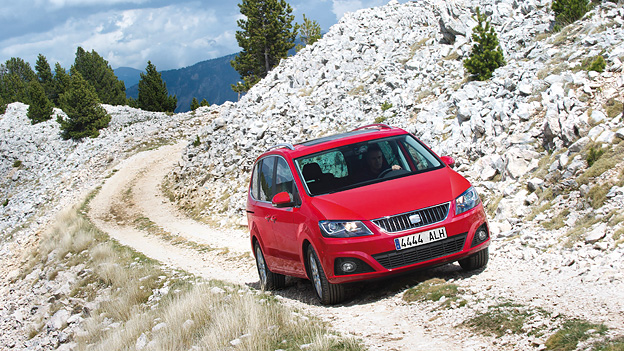Seat Alhambra 4WD Exterieur Dynamisch Front