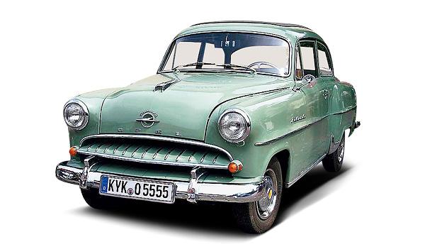 1955 Zeitgenossen Goggomobil Opel Olympia Rekord