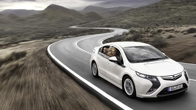 Opel Ampera Exterieur Dynamisch Front