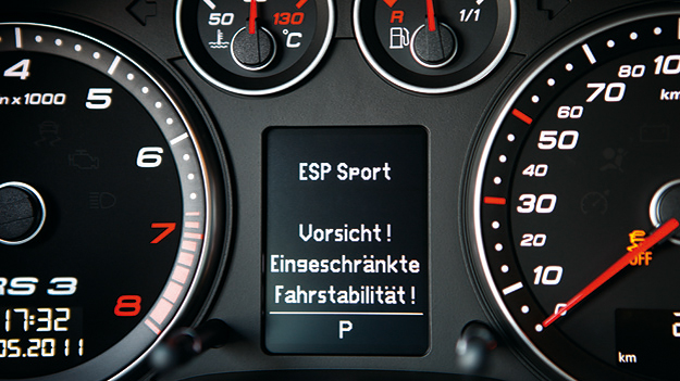 Audi RS3 Sportback Detail