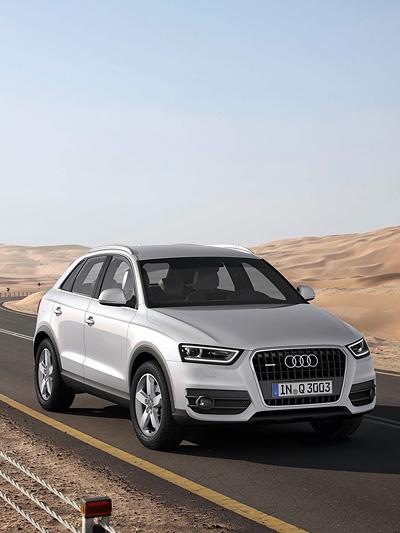 Audi Q3 Exterieur Dynamisch Front