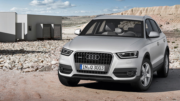 Audi Q3 Exterieur Statisch Front