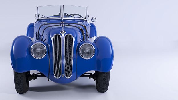 BMW 328 Exterieur 1936 Veteran Radical Mag Harry Potter