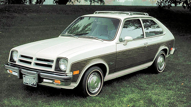 1975 Zeitmaschine AMC PAcer Zeitgenossen