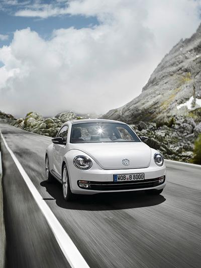 VW Beetle Exterieur Dynamisch Front Harry Potter
